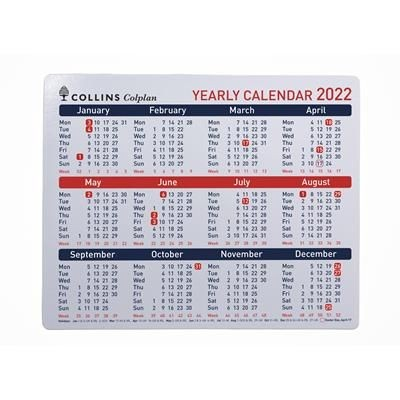 COLLINS COLPLAN YEARLY CALENDAR
