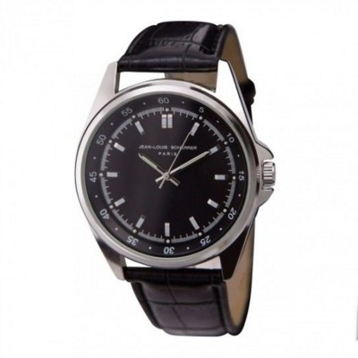JEAN LOUIS SCHERRER CONTRASTE MENS WATCH in Black