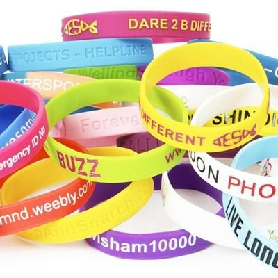 PANTONE MATCHED SILICON WRIST BAND