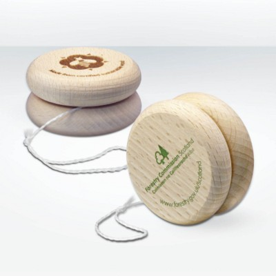 GREEN & GOOD SUSTAINABLE WOOD YOYO in Natural