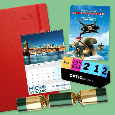 Promotional Calendars, Diaries & Seasonal Merchandise